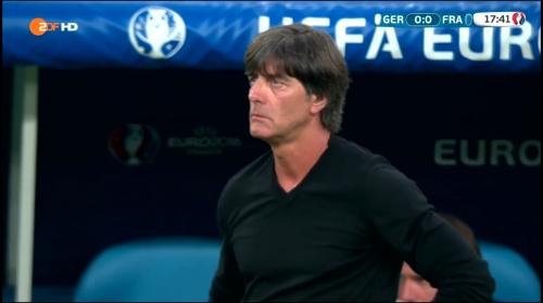 Joachim Löw – Deutschland v Frankreich 1st half (EM 2016) 13