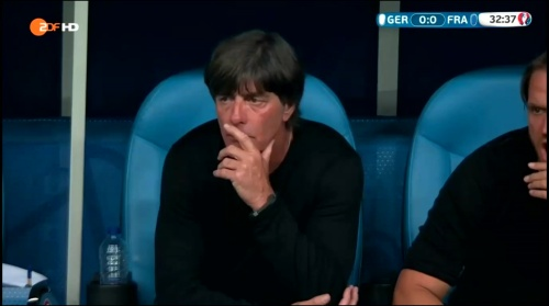 Joachim Löw – Deutschland v Frankreich 1st half (EM 2016) 14