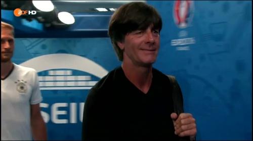 Joachim Löw – Deutschland v Frankreich 1st half (EM 2016) 2