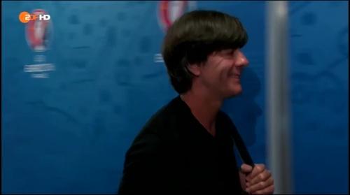 Joachim Löw – Deutschland v Frankreich 1st half (EM 2016) 3
