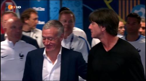 Joachim Löw – Deutschland v Frankreich 1st half (EM 2016) 7