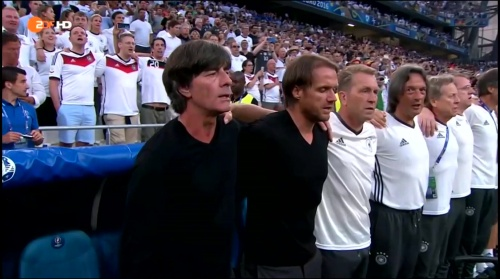 Joachim Löw – Deutschland v Frankreich 1st half (EM 2016) 8