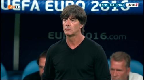 Joachim Löw – Deutschland v Frankreich 2nd half (EM 2016) 1