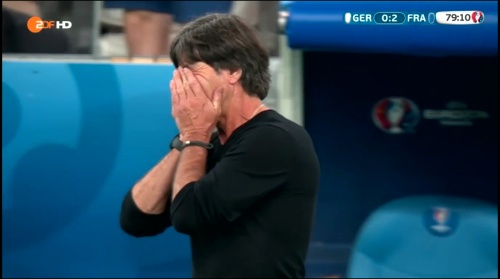Joachim Löw – Deutschland v Frankreich 2nd half (EM 2016) 13