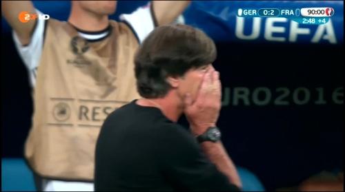 Joachim Löw – Deutschland v Frankreich 2nd half (EM 2016) 14