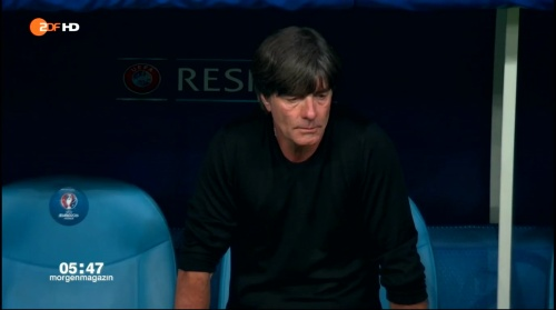 Joachim Löw – Deutschland v Frankreich 2nd half (EM 2016) 15