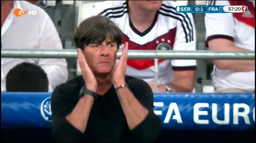 Joachim Löw – Deutschland v Frankreich 2nd half (EM 2016) 3