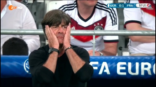 Joachim Löw – Deutschland v Frankreich 2nd half (EM 2016) 4