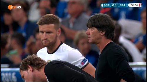 Joachim Löw – Deutschland v Frankreich 2nd half (EM 2016) 5