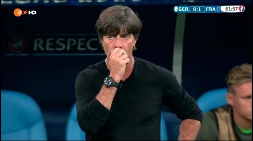 Joachim Löw – Deutschland v Frankreich 2nd half (EM 2016) 7