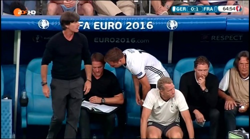 Joachim Löw – Deutschland v Frankreich 2nd half (EM 2016) 8