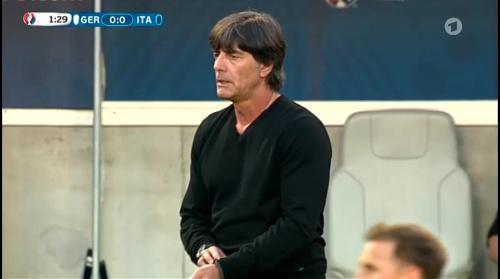 Joachim Löw – Deutschland v Italien 1st half (EM 2016) 12