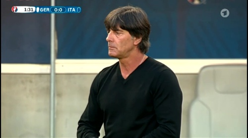 Joachim Löw – Deutschland v Italien 1st half (EM 2016) 13