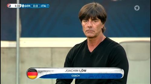 Joachim Löw – Deutschland v Italien 1st half (EM 2016) 14
