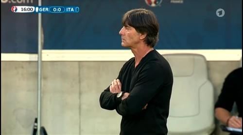 Joachim Löw – Deutschland v Italien 1st half (EM 2016) 17