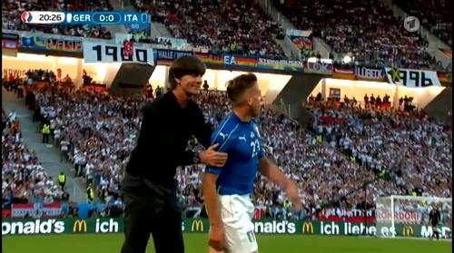 Joachim Löw – Deutschland v Italien 1st half (EM 2016) 20