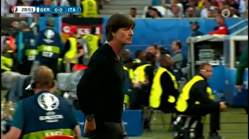 Joachim Löw – Deutschland v Italien 1st half (EM 2016) 24