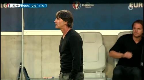 Joachim Löw – Deutschland v Italien 1st half (EM 2016) 25