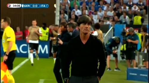 Joachim Löw – Deutschland v Italien 1st half (EM 2016) 26