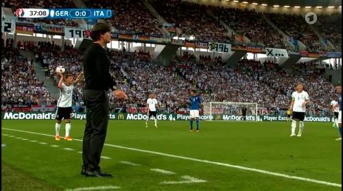 Joachim Löw – Deutschland v Italien 1st half (EM 2016) 27