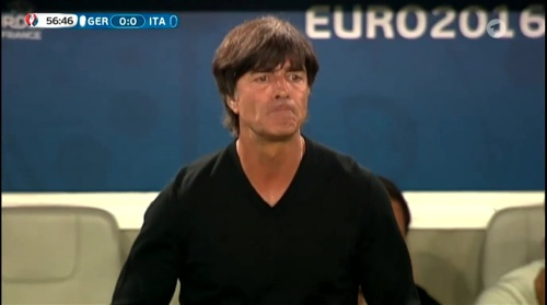 Joachim Löw – Deutschland v Italien 1st half (EM 2016) 28