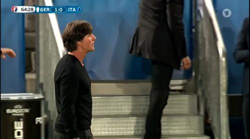 Joachim Löw – Deutschland v Italien 2nd half (EM 2016) 1
