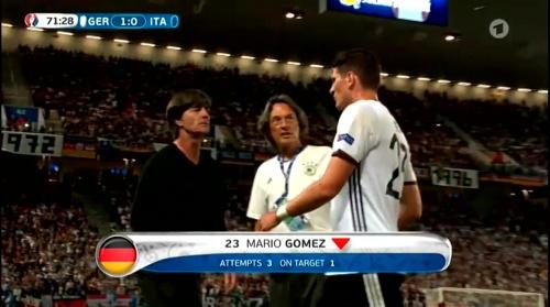 Joachim Löw – Deutschland v Italien 2nd half (EM 2016) 2