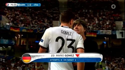 Joachim Löw – Deutschland v Italien 2nd half (EM 2016) 3