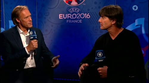 Joachim Löw – Deutschland v Italien post-match show (EM 2016) 1