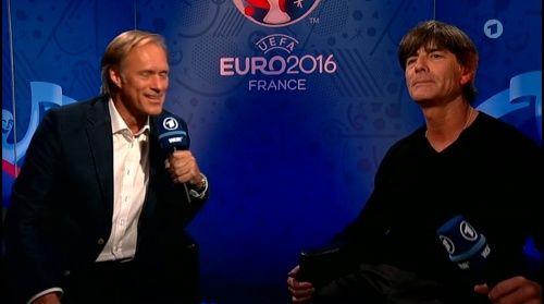Joachim Löw – Deutschland v Italien post-match show (EM 2016) 13