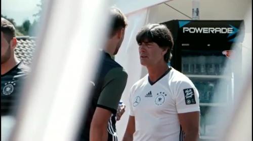 Joachim Löw – Training und PK in Evian 3