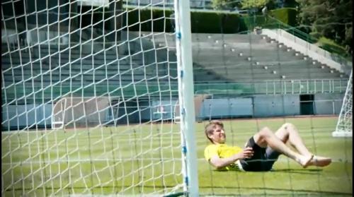 Thomas Müller - Abschlusstraining vor Italien-Spiel in Évian