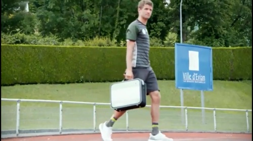 Thomas Müller – Das vorletzte Training in Evian