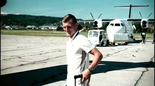 Toni Kroos - Reise nach Bordeaux