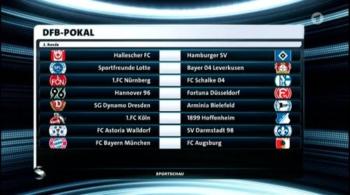 DFB Pokal 2nd round draw 2016-17 1