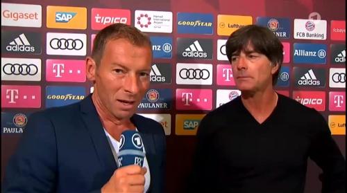 Joachim Löw HT Interview - Bayern München v Werder Bremen 2016-17 1