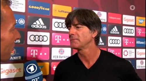 Joachim Löw HT Interview - Bayern München v Werder Bremen 2016-17 2