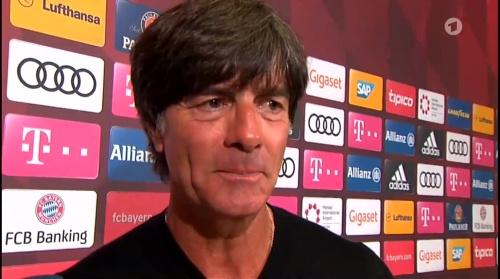 Joachim Löw HT Interview - Bayern München v Werder Bremen 2016-17 3