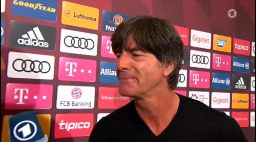 Joachim Löw HT Interview - Bayern München v Werder Bremen 2016-17 4