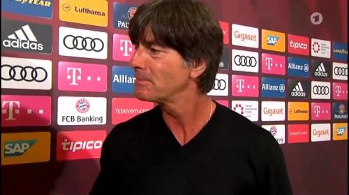 Joachim Löw HT Interview - Bayern München v Werder Bremen 2016-17 6