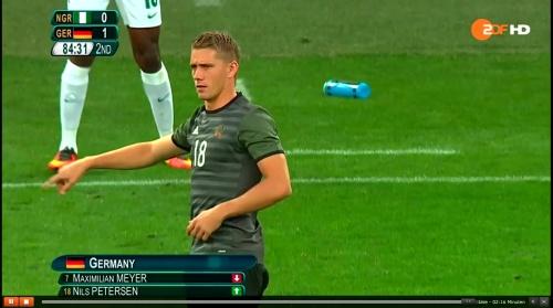 Nils Petersen - Deutschland v Nigeria (Olympics 2016) 2