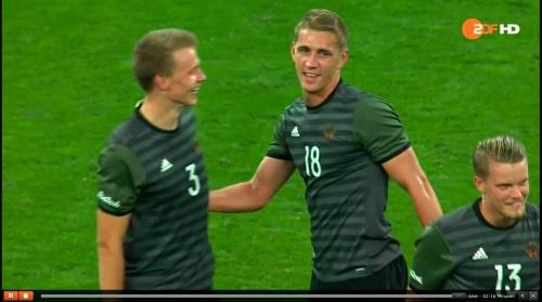 Nils Petersen - Deutschland v Nigeria (Olympics 2016) 4