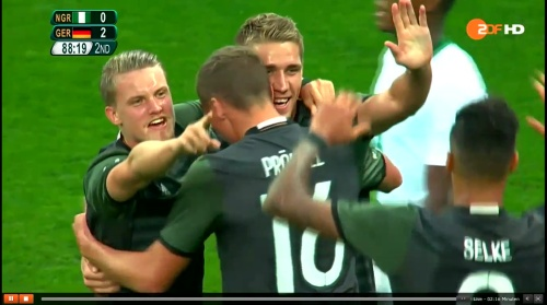 Nils Petersen - Deutschland v Nigeria (Olympics 2016) 9