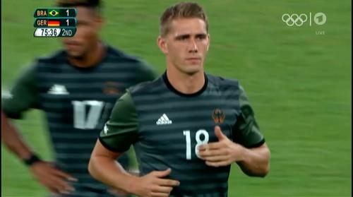 Nils Petersen – Deutschland v Brasilien (Olympics 2016) 1