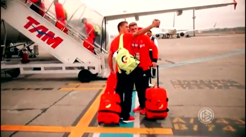 Nils Petersen & Matthias Ginter - Reise nach Rio 2