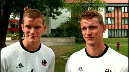 Sven & Lars Bender - Hrubeschs Olympia Team nach Rio gereist 1