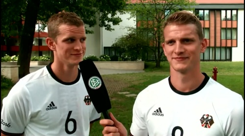 Sven & Lars Bender - Hrubeschs Olympia Team nach Rio gereist 2