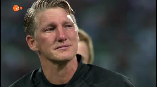 Bastian Schweinsteiger - ZDF heute sport 01-09-16 2
