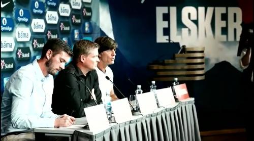 Joachim Löw - Der Tag vor dem Spiel in Oslo 3