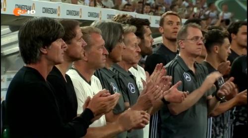 Joachim Löw – Deutschland v Finnland first half 1